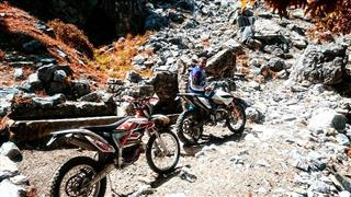 Extreme Enduro Ride, New Tracks, Alanya Enduro Team Riders. Some Dangerous Points. Region : Hell Creek - Out of limits - to be continued.- Cehennem Deresi Alanya 2016